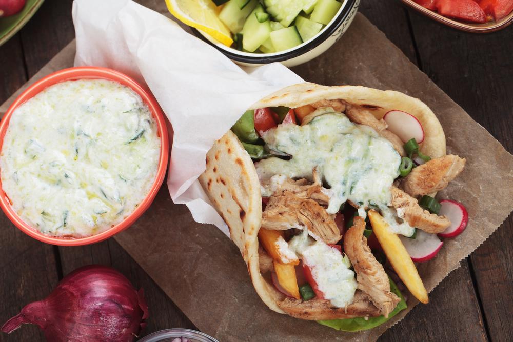 Falken Kebab im Fladenbrot