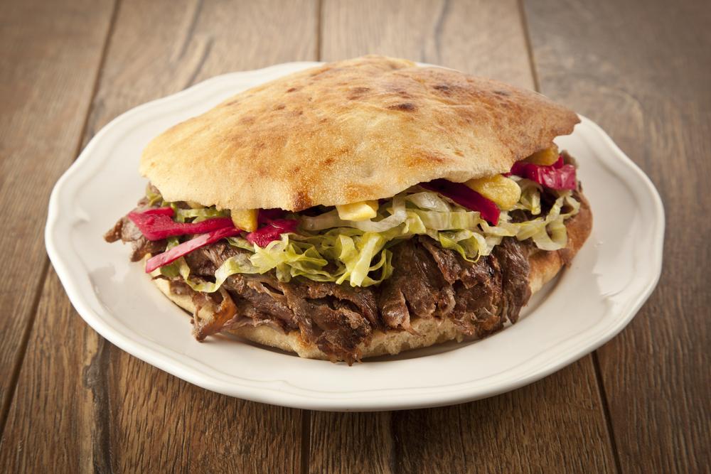 Falken Kebab im Taschenbrot